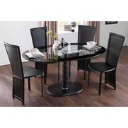 Oval Lenora Dining Set