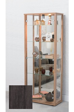 2 Door Glass Display Cabinet