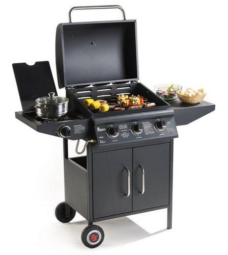 landmann grill chef 3 burner bbq studio. Black Bedroom Furniture Sets. Home Design Ideas