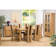 Set Of 2 Suffolk Oak Dining Chairs