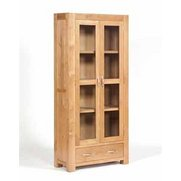 Suffolk Oak Glazed Display Unit