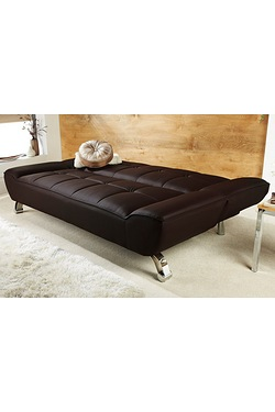 Riviera Faux Leather Sofa Bed