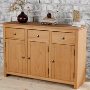 Panama Solid Pine Large Sideboard