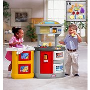 Little Tikes - Double-Up Kitchen & ...