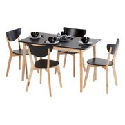 5-Piece Birch Dining Set