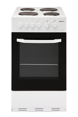 Beko White 50cm Single Cavity Elect...
