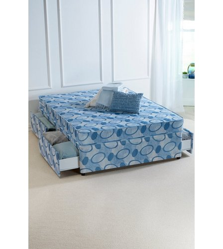 Divan bed with 4 drawers studio for 4 foot divan bed with drawers