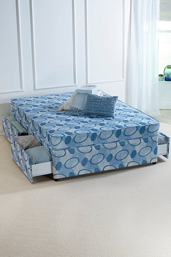 Divan Bed - With 4 Drawers