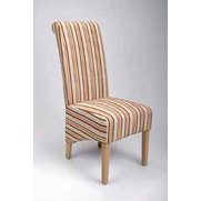 Krista Stripe Chairs - Set Of 2