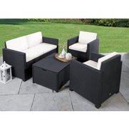 Victoria Patio Set With Cushion Box...