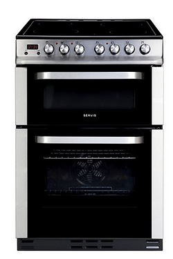 Servis 60cm Ceramic Electric Cooker