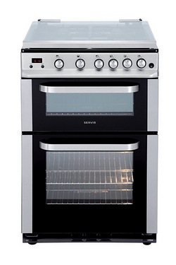 Servis 60cm Gas Cooker With Lid