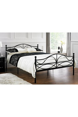 Nina Metal Bed - Without Mattress