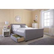 Hannover 4 Drawer Fabric Bed