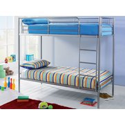 Metal Bunk Bed - With Mattresses