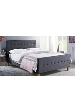 Verona Fabric Bed - With Mattress