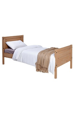 Mexican Solid Pine Bed - Without Ma...