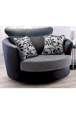 Shannon Swivel Chair - Large