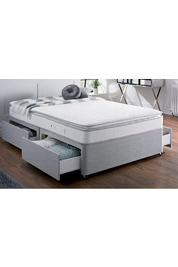 Airsprung Pillow Top Divan - 2 Drawer