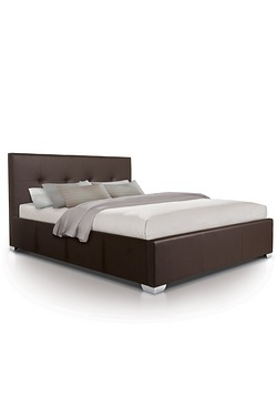 Brown Dublin Oversized Ottoman Bed