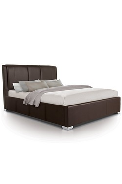 Brown Brussels Oversized Ottoman Bed