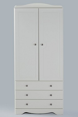 Milford 2 Door 3 Drawer Wardrobe