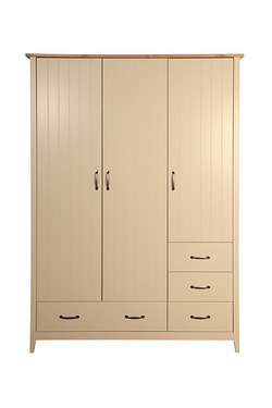 Norfolk 3 Door 4 Drawer Wardrobe