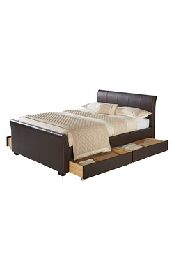 4 Drawer Storage Hannover Bed - Wit...