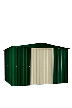 Store More Lotus Shed - Heritage Green