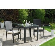 Madrid Rattan-Effect Bistro Set