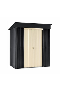 Store More Lotus Pent Shed - Slate ...