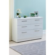Manhattan 6 Drawer Midi Chest