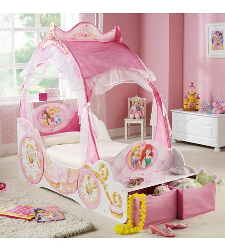 image for disney princess carriage bed from studio
