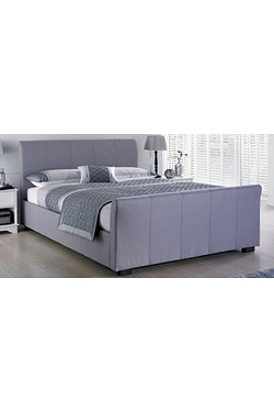 Hannover Fabric Bed With Mattress