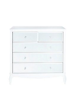 Amelie Mirrored 2+3 Drawer Chest