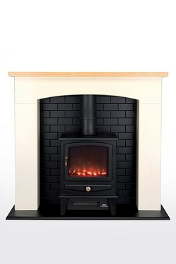 Beldray Millom Electric Small Stove Fire Suite