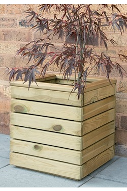 Wooden Linear Planter