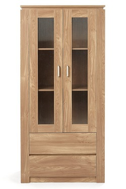 Montana Display Cabinet With Drawers
