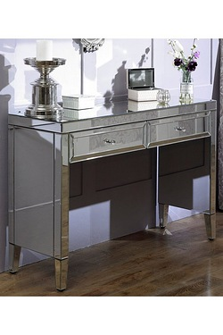 Valencia Mirrored 2 Drawer Sideboard