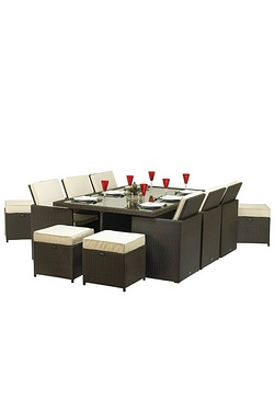 Royalcraft Cannes 10 Seater Cube Set