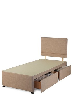 Milan Divan Base - 2 Drawers