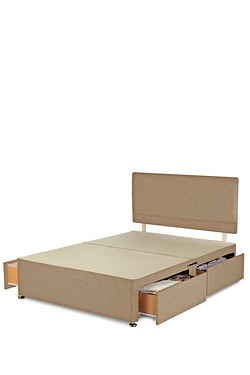 Milan Divan Base - 4 Drawer