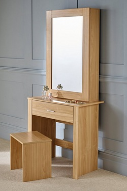 Hobson Mirrored Unit and Stool