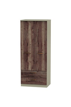 Berkshire 2 Drawer Wardrobe