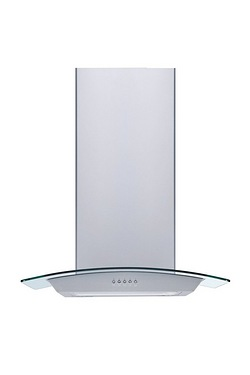Ferretti 60cm Curved Glass Cooker Hood