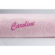 Personalised Ivory Towel