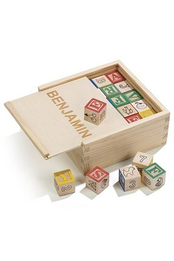 Personalised Blocks In A Box