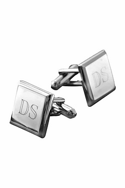 Personalised - Silver Plated Cufflinks