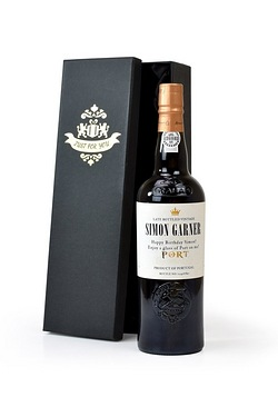 Personalised Port Antique Label Gif...