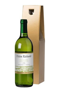Personalised White Wine, Vineyard L...